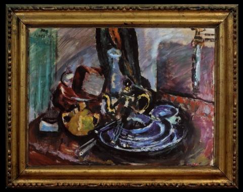 «Oppstilling med kopper», 1923