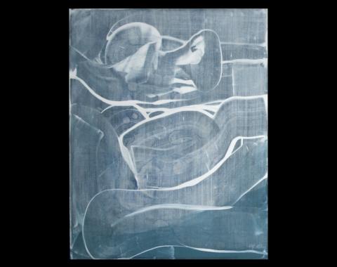 «Vannspeiling/ demring», 2001