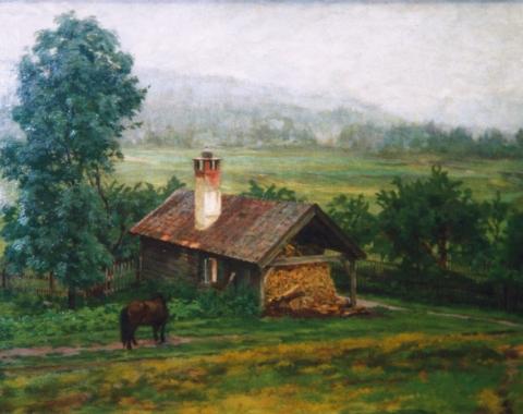 «Regnvær, Numedal», 1898