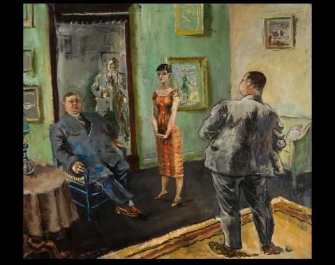 «Tvillingbrødre (Tykke menn)», 1926