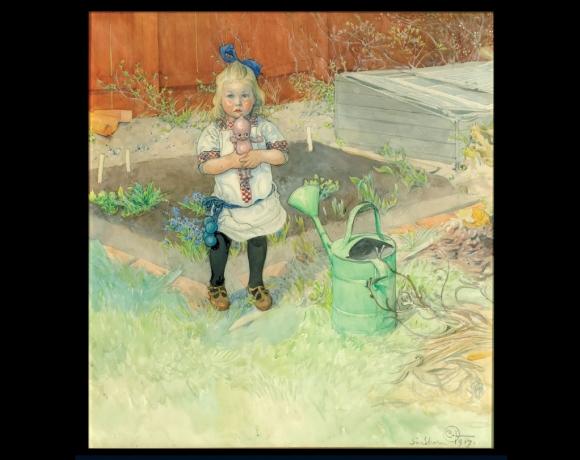 «Den underlige dockan», 1917