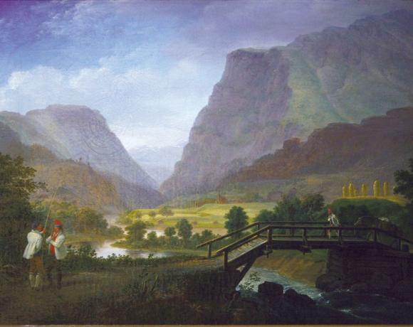 «Fra Fortundalen», 1822