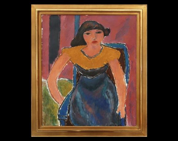 «Sittende kvinne», 1949