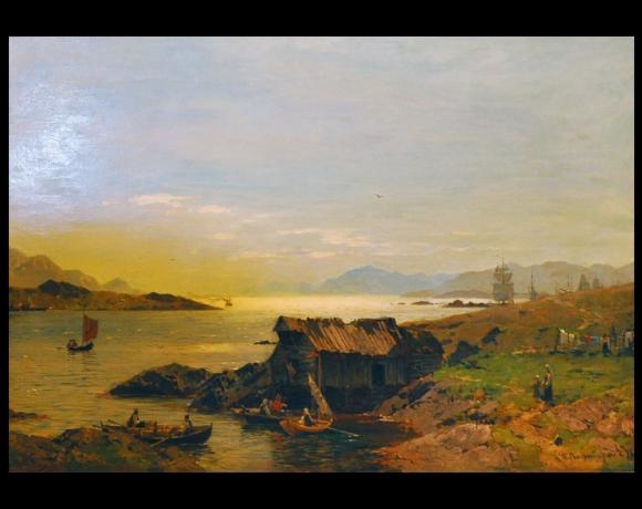 «Fjordlandskap», 1878