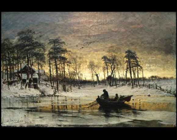 «Vinter Scene», 1876