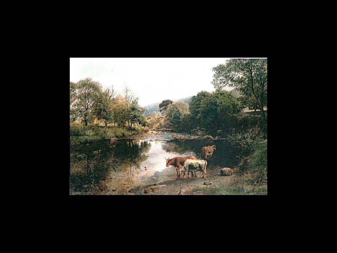«Elvestryk, Wales», 1863 «Rapids, Wales»