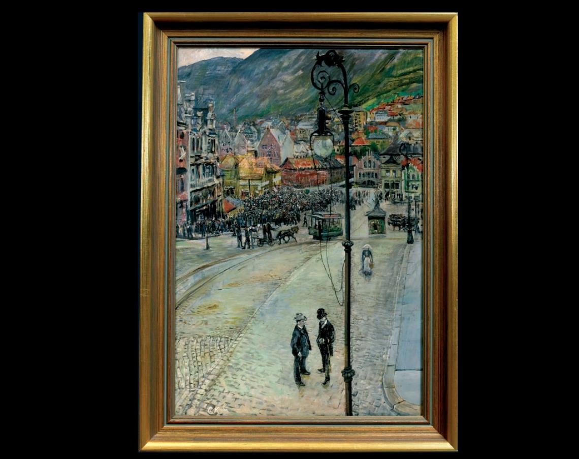 «Fra Torvalmenningen», 1905