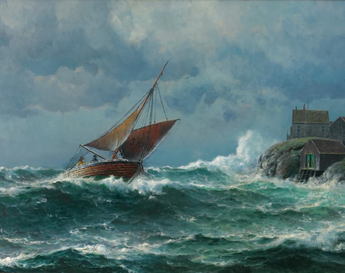 «Losskøyten», 1906